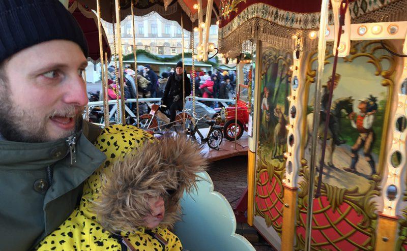 För andra året i rad åkte vi karusell på självständighetsdagen. Hur kur som helst om man räknar bort köandet.